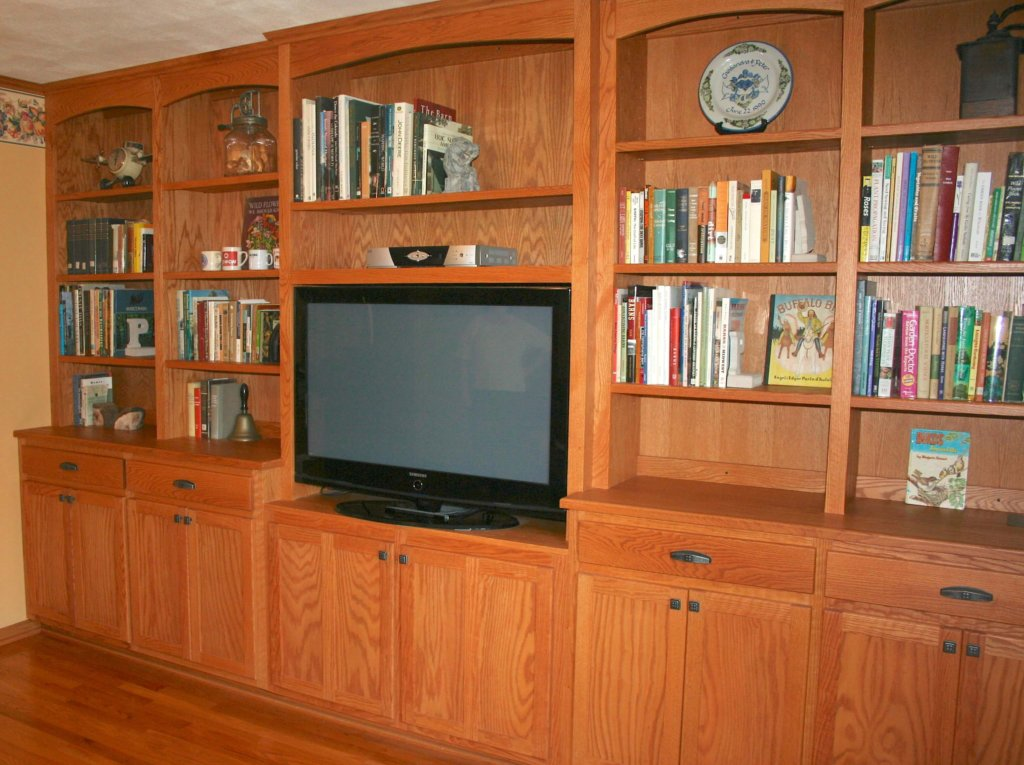 custom living room cabinets steve 39 s custom cabinets mason wi. Black Bedroom Furniture Sets. Home Design Ideas